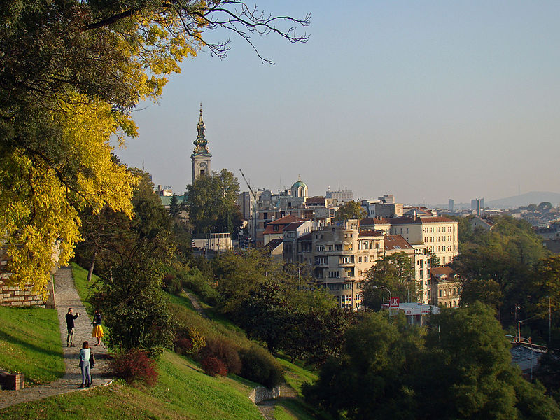 Belgrade. View to the Stari Grad from the King gate.jpg