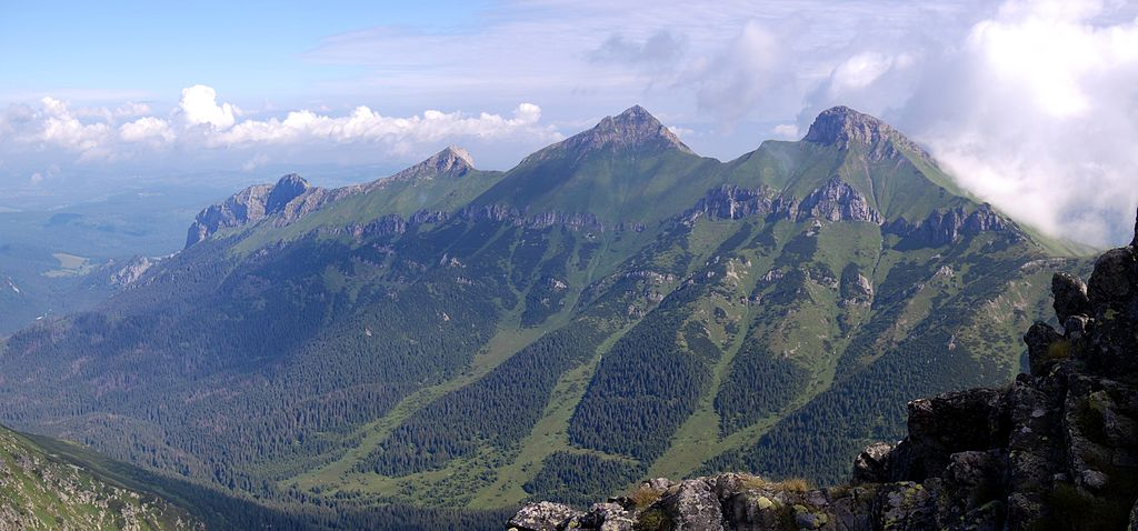 Montagne Belianske Tatry en Slovaquie - Photo de Sfu