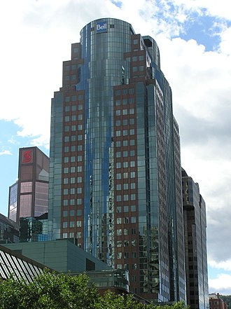 Place Montreal Trust - Image: Bell Media Tower