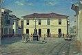 Benedito Calixto de Jesus - Páteo Interno da cadeia de Santos, 1854, Acervo do Museu Paulista da USP.jpg