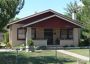 National Register of Historic Places listings in Cochise County, Arizona - Image: Benson, Arizona 143 W 6 St