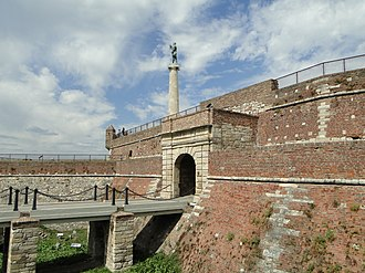 Belgrade Fortress - Kalemegdan Park and the Fortress