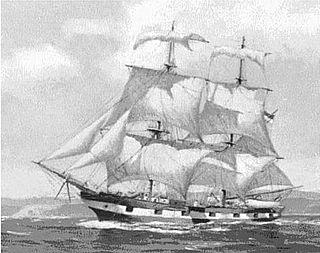Chilean brigantine <i>Águila</i> (1796)