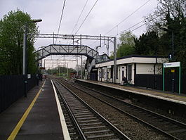 Berkswell railway station -from platform two -5y08.JPG