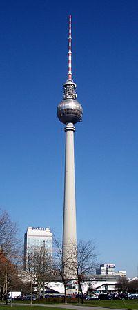 El Fernsehturm de Berlín