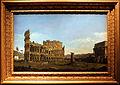 Bernardo bellotto, roma, il colosseo e l'arco di costantino da occidente.JPG
