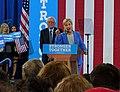 Bernie Sanders endorsing Hillary Clinton (27653804274) (cropped).jpg