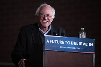 2016 Iowa Democratic caucuses - Bernie Sanders campaigns in Iowa in January 2016