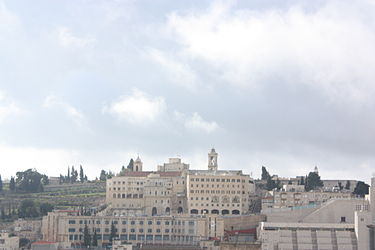 Bethlehem and Church of Nativity from a distance.jpg