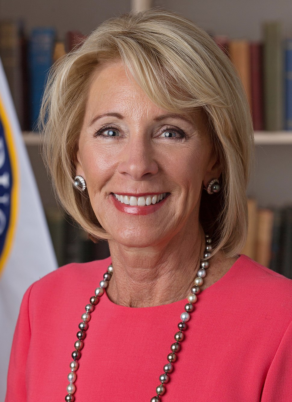 Betsy DeVos official portrait (cropped)