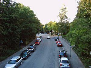 Betzenberg - Kantstrasse in the quarter of Betzenberg