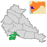 Bhor tehsil in Pune district.png