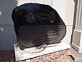 Bia Reformed church, Memorial stone. - Bia, Biatorbágy, Pest County, Hungary.jpg