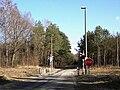 Bierwce - Ług, Przejazd kolejowy - fotopolska.eu (286603).jpg