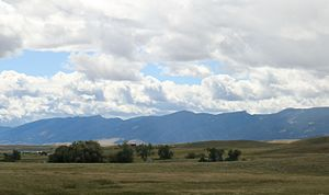 Bighorn Mountains - Big Horn range in Northern Wyoming