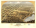 Bird's eye view of Loda, Iroquois Co., Illinois 1869. LOC 73693361.jpg