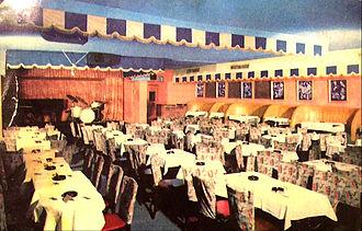 Birdland (New York jazz club) - Club interior