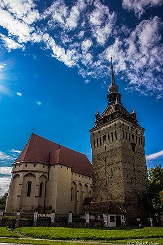 Saschiz - Image: Biserica fortificată din Saschiz 1
