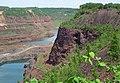 Biwabik Iron-Formation (Paleoproterozoic, ~1.878 Ga; southern wall of the Hull-Rust-Mahoning Mine, Hibbing, Minnesota, USA) 2 (23664729976).jpg