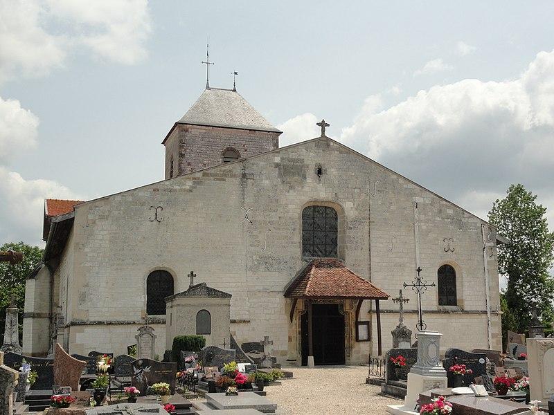 L'église Saint-Martin de Blacy.