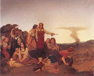 Blenda - Blenda  by August Malmström (1829-1901)