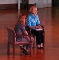 BlogHer '07 - Chicago - Elizabeth Edwards (932630330) (cropped).jpg