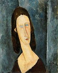 Yeux bleux (Portrait de Madame Jeanne Hébuterne)