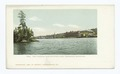 Blue Mountain Lake, the Utowana, Adirondacks, N. Y (NYPL b12647398-63050).tiff
