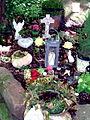"""Blumeninsel für """"Baumbestattungen"""" Bergfriedhof Heidelberg 0679.JPG"""