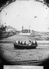 Boat on the shore, Cemaes (Mon)