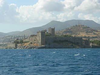 Bodrum Castle - Bodrum Castle from the sea