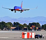Boeing 737 Southwest N207WN McCarran International Airport (6764704007).jpg