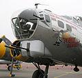 Boeing B-17G chin turret, Chino, California.jpg