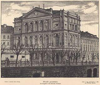Provisional Theatre (Prague) Theatre in 19th-century Prague
