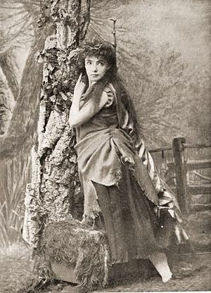 Ruddigore - Jessie Bond as Margaret