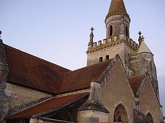 Bonnes, Vienne - The church in Bonnes