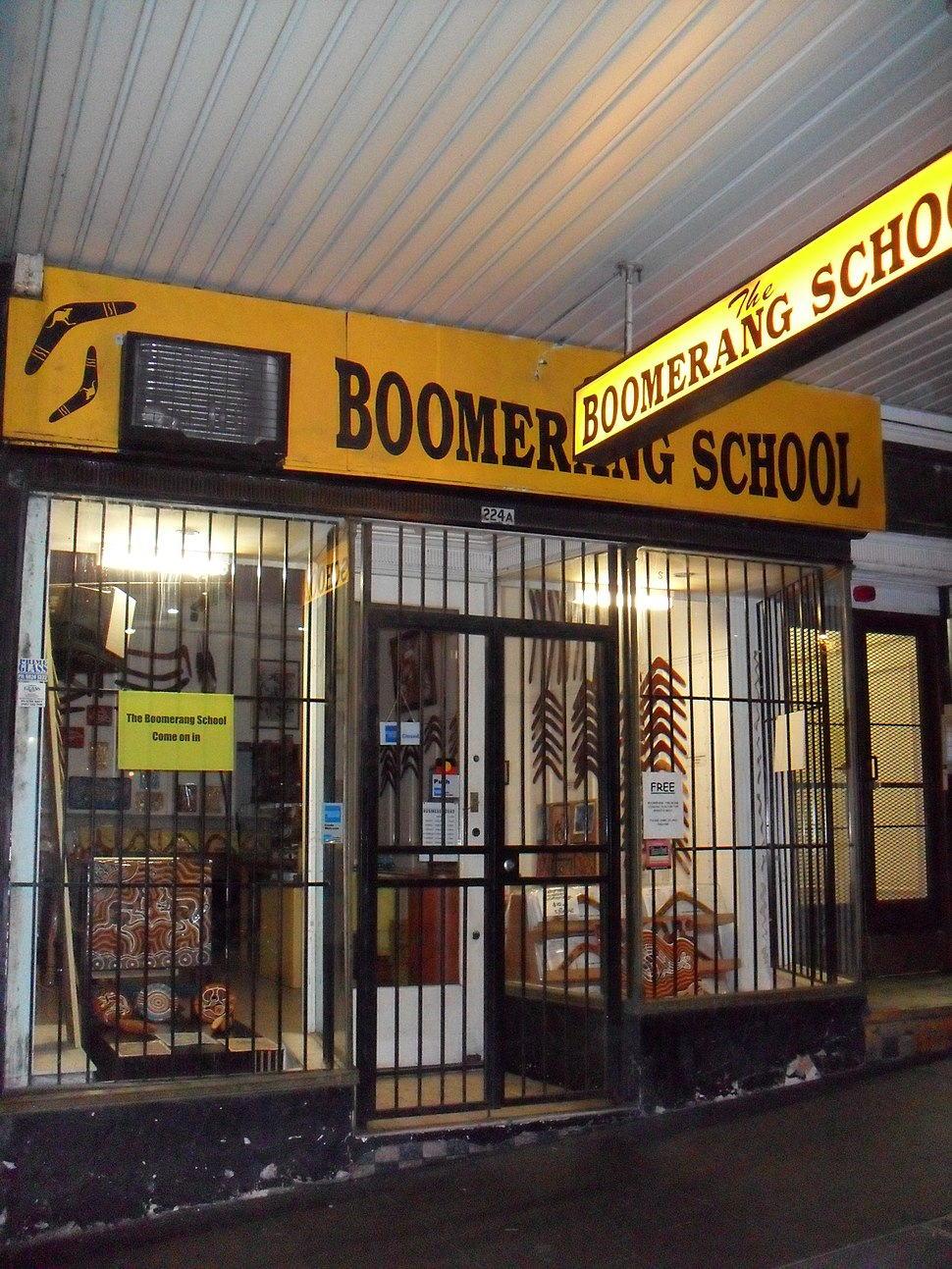 Boomerang School