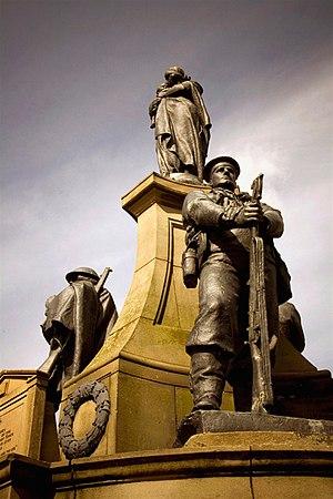 Joseph Hermon Cawthra - Image: Bootle War Memorial