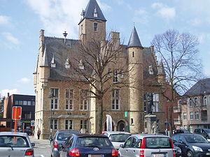 Bornem - Image: Bornem Landhuis achterzijde