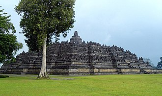 Samaratungga - Borobudur, the largest Buddhist structure in the world built by the Sailendra dynasty under Samaratungga.