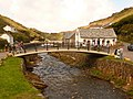 Boscastle, the new bridge - geograph.org.uk - 1466268.jpg