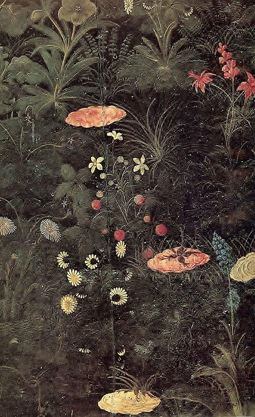 Botticelli's Primavera - detail 01