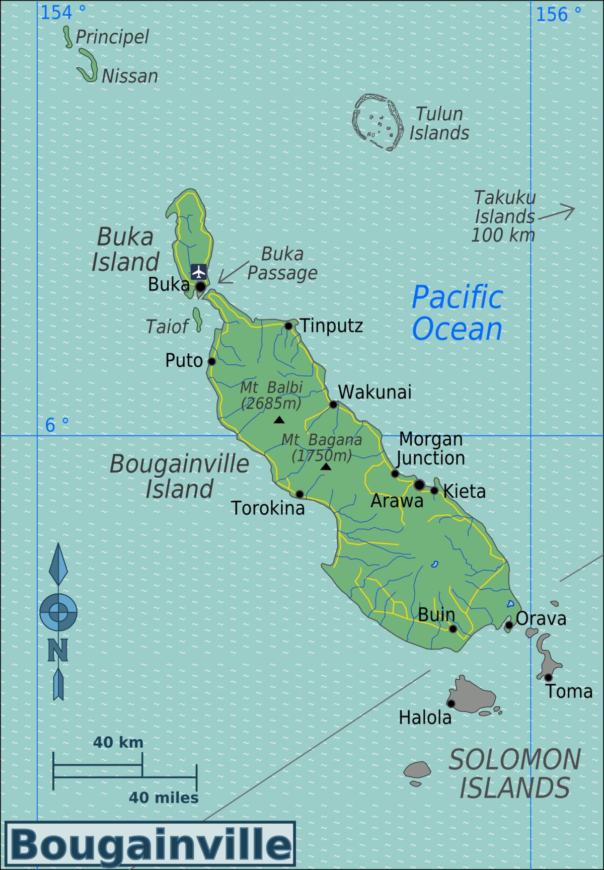 Conflict Islands New Guinea