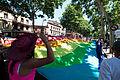 Boulevard Lazard Carnot - Drapeau arc-en-ciel - Gay Pride Toulouse 2012.jpg