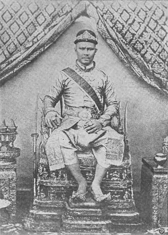 Wichaichan - Photograph of Wichaichan on his throne