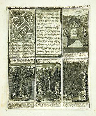 The labyrinth of Versailles - John Bowles' guidebook