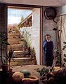 Boy Hiding from Puppies in a Cellar (1876).jpg