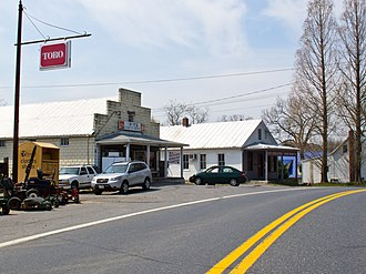 Boyds, Maryland - Boyds, Maryland, seen from Maryland Route 117