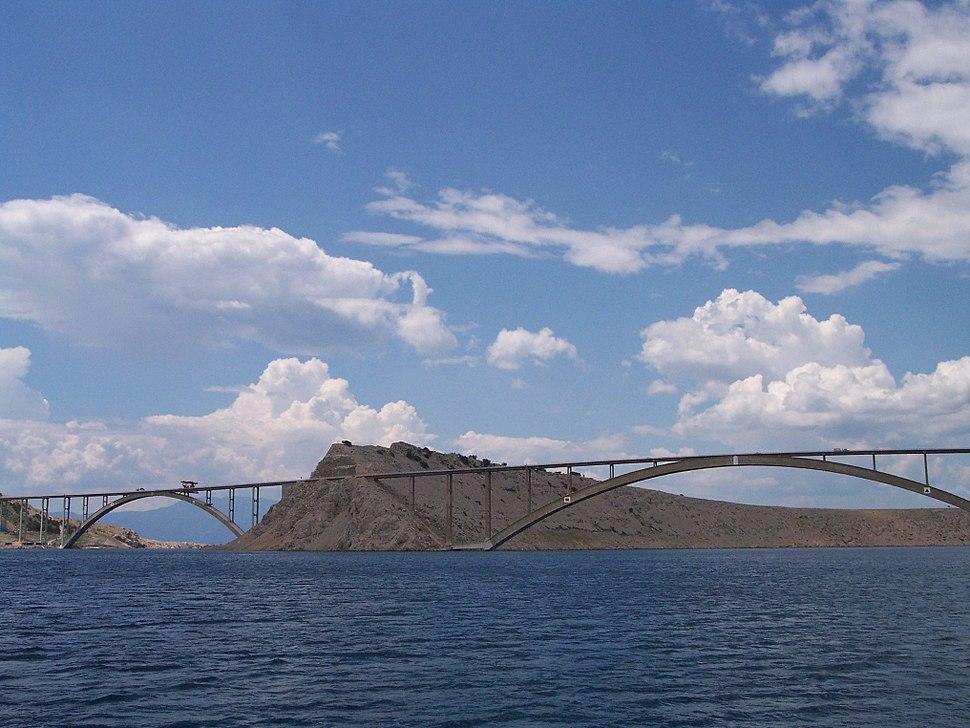 Brücke Krk-Festland