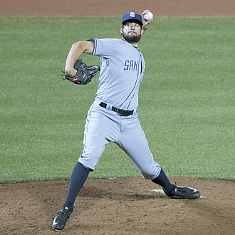 Brad Hand - Hand with the San Diego Padres